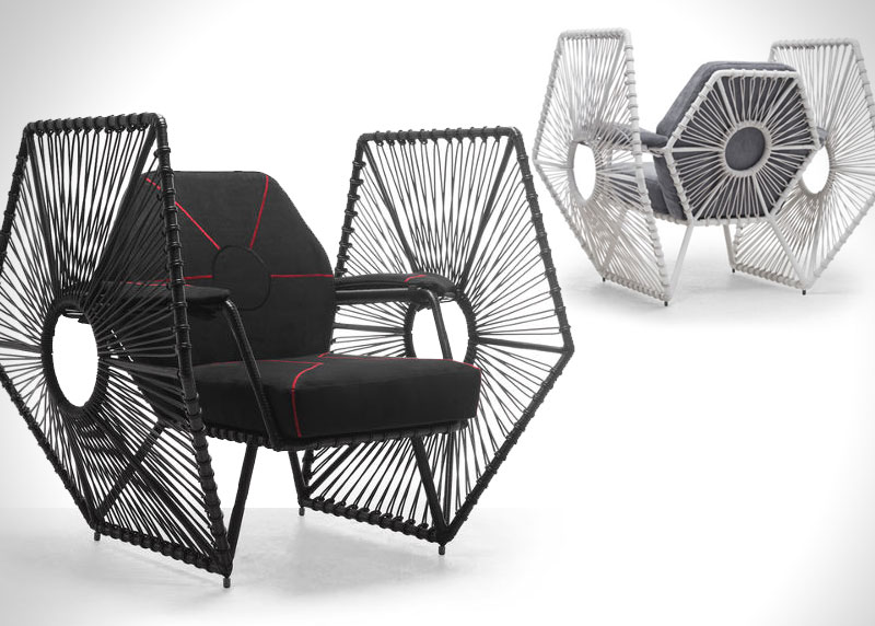Mobilier Star Wars, Kenneth Cobonpue, le Mobilier Star Wars aussi Chic que Geek