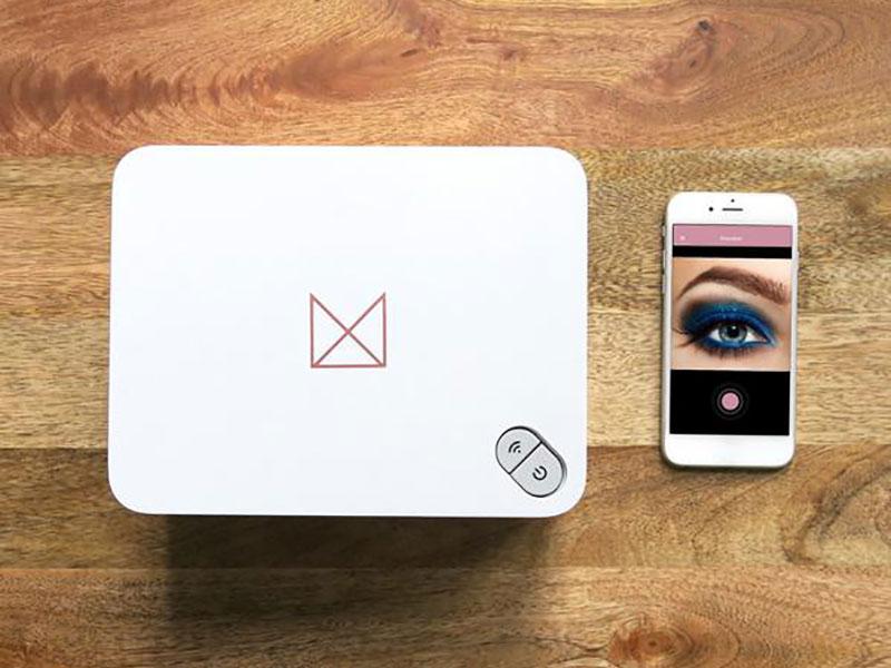 mink beauty imprimante 3d maquillage 3 - Imprimer en 3D votre Maquillage par Millions de Couleurs (video)