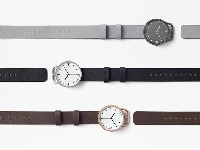 nendo tenten buckle watch montre bracelet ceinture 3 - Nendo Met une Ceinture à sa Montre Minimaliste Buckle