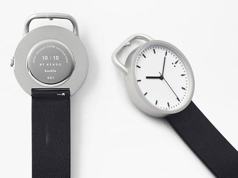 nendo tenten buckle watch montre bracelet ceinture 6 - Nendo Met une Ceinture à sa Montre Minimaliste Buckle