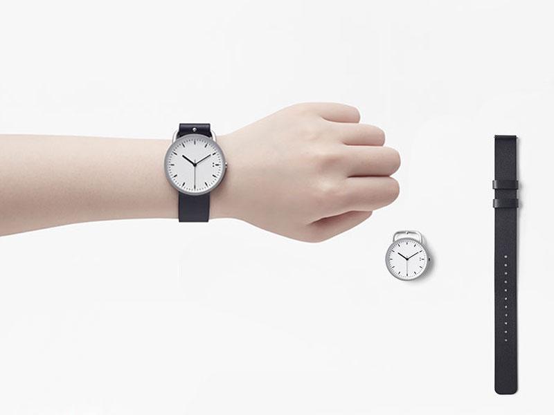 nendo tenten buckle watch montre bracelet ceinture 7 - Nendo Met une Ceinture à sa Montre Minimaliste Buckle