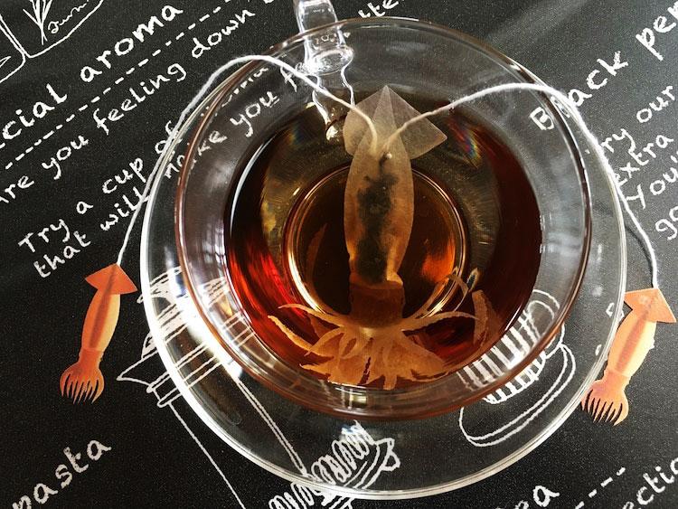 sachets thé, Sachets de Thé en Créatures des Mers Réalistes