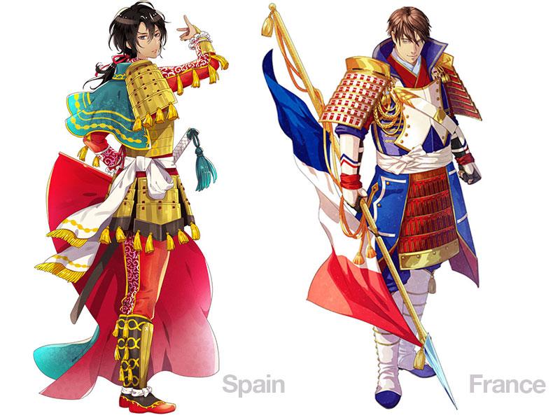 personnages jap animes pays jo 2020 08 - Pays Participants aux JO 2020 de Tokyo en Personnages d'Animes