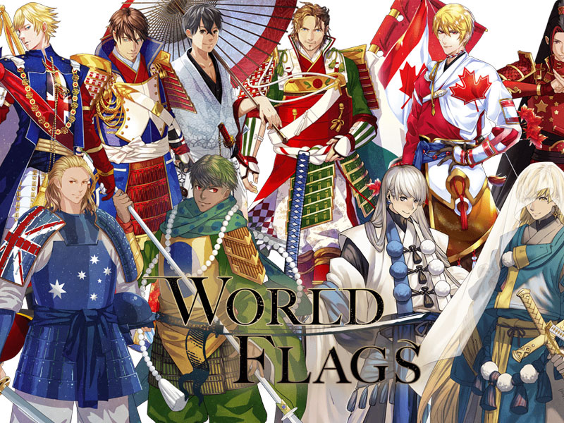personnages jap animes pays jo 2020 12 - Pays Participants aux JO 2020 de Tokyo en Personnages d'Animes