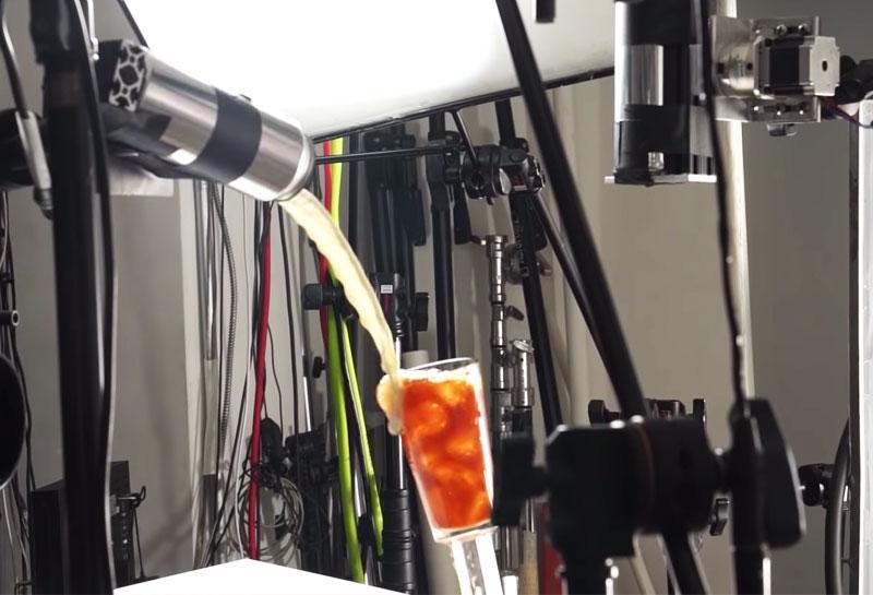 Steve Giralt, Secrets de Tournage des Pubs Réalisées avec des Robots (video)