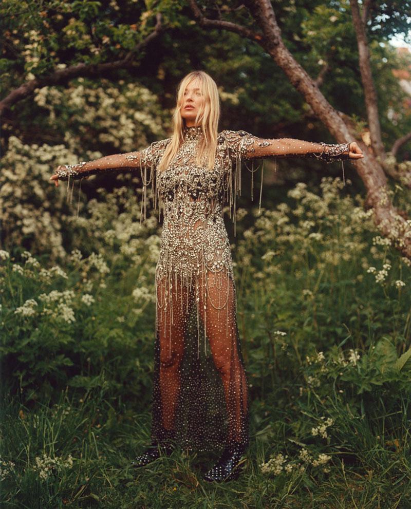Alexander McQueen hiver 2019 2020, Pour Alexander McQueen Kate Moss Est Naturellement Chic
