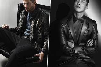 campagne giorgio armani homme hiver 2019 2020 02 331x219 - L'Homme Giorgio Armani en Men in Black pour l'Hiver