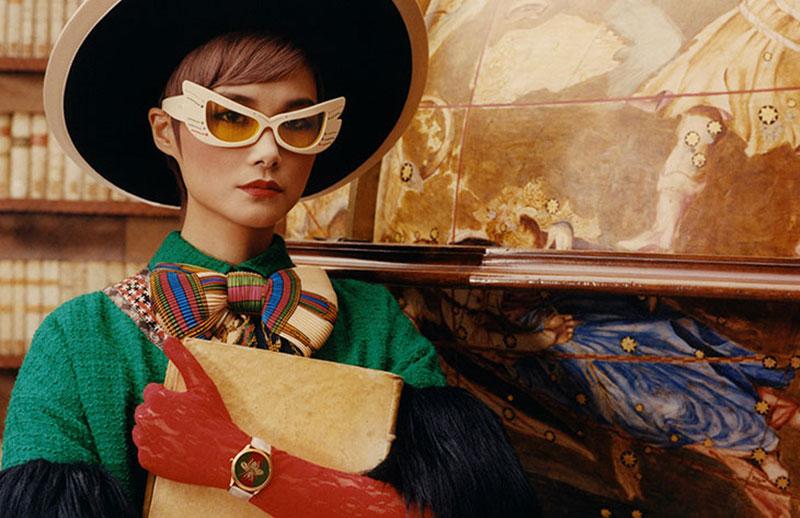 Chris Lee Gucci montres bijoux, Avec Montres et Bijoux Gucci Invite Chris Lee à la Bibliotheque