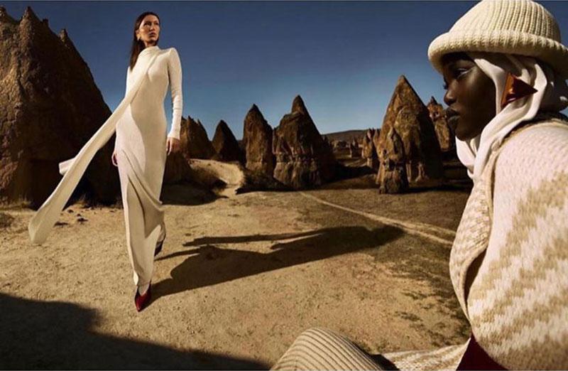 campagne missoni femme hiver 2019 2020 03 - La Femme Missoni passe un Hiver Hippie Chic en Cappadoce