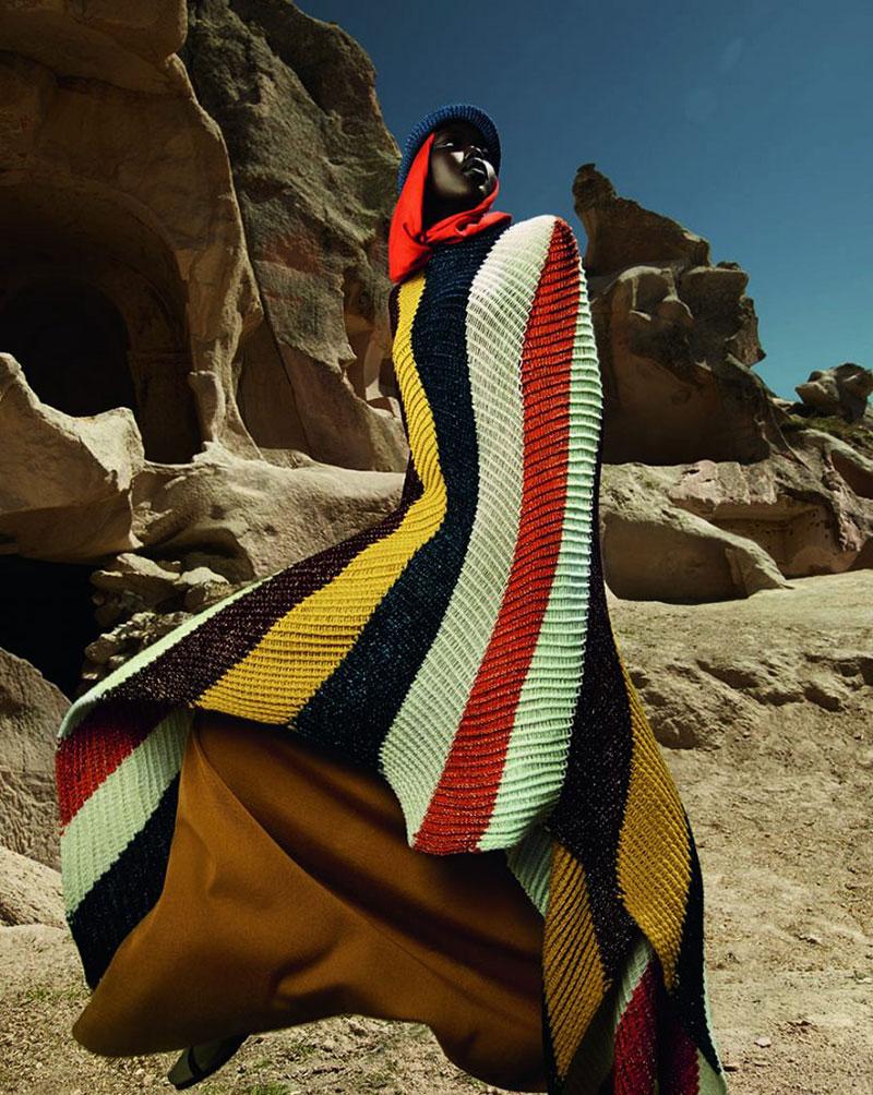campagne missoni femme hiver 2019 2020 04 - La Femme Missoni passe un Hiver Hippie Chic en Cappadoce