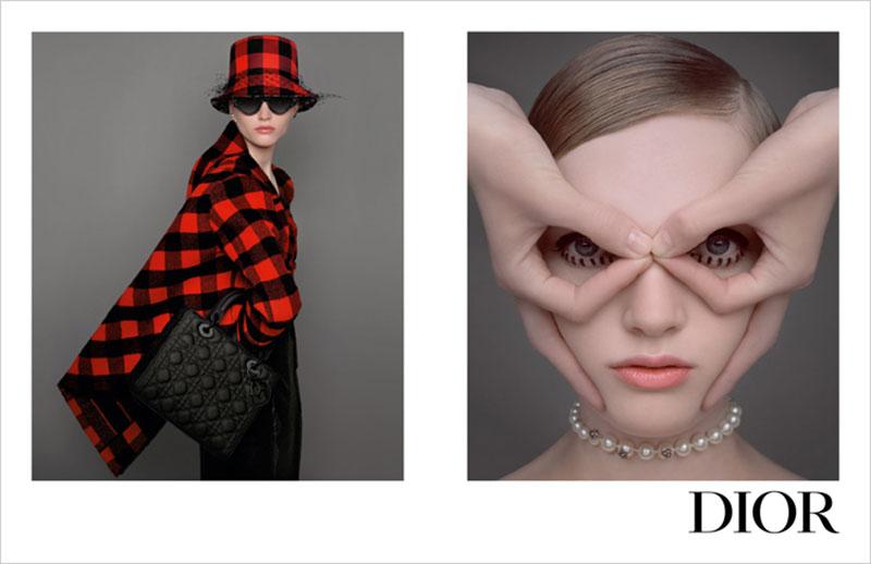 dior campagne femme hiver 2019 2020 01 - Chic et Elégante la Femme Dior de l'Hiver Prochain