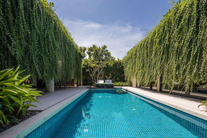 jardins suspendus villas vietnam 01 - Ces Jardins Suspendus Donnent à ces Villas Nature et Intimité