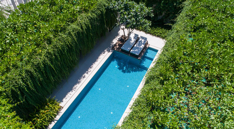 jardins suspendus villas vietnam 02 - Ces Jardins Suspendus Donnent à ces Villas Nature et Intimité