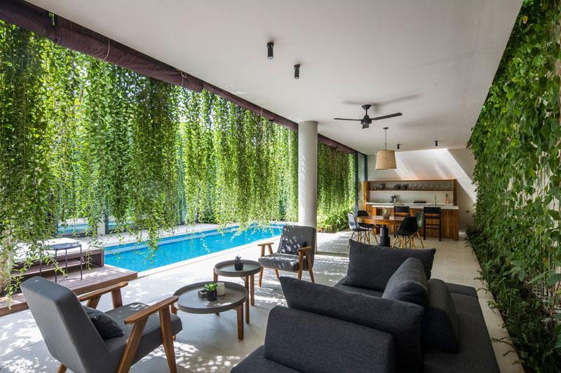 jardins suspendus villas vietnam 07 - Ces Jardins Suspendus Donnent à ces Villas Nature et Intimité