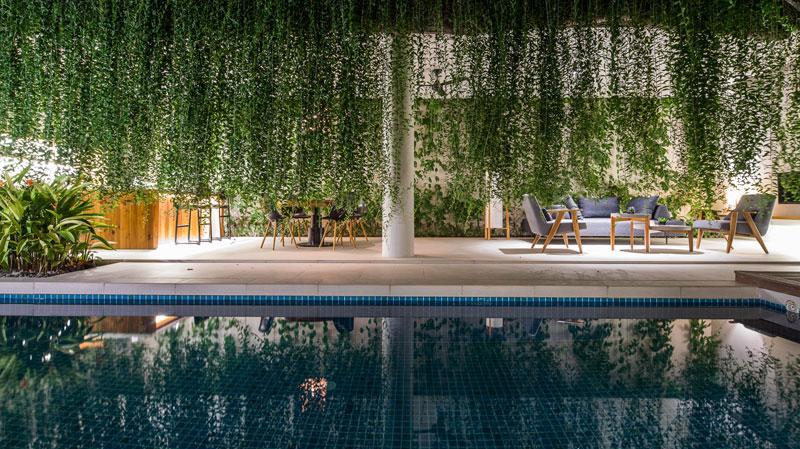 jardins suspendus villas vietnam 08 - Ces Jardins Suspendus Donnent à ces Villas Nature et Intimité
