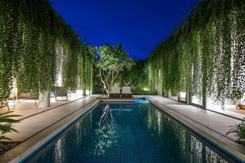 jardins suspendus villas vietnam 09 - Ces Jardins Suspendus Donnent à ces Villas Nature et Intimité