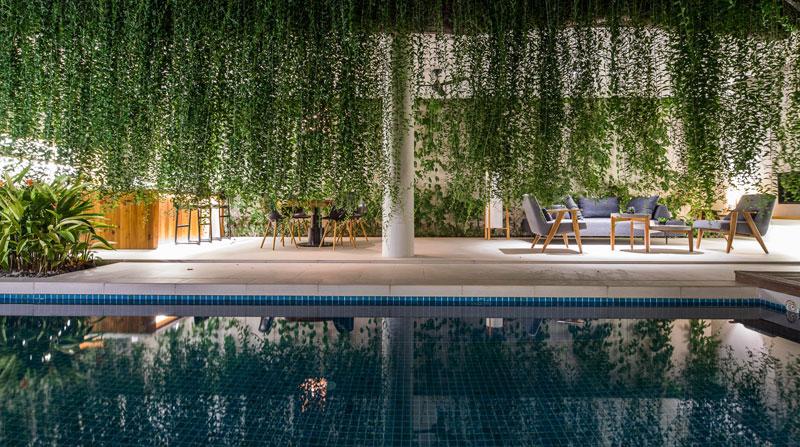 jardins suspendus villas vietnam 10 - Ces Jardins Suspendus Donnent à ces Villas Nature et Intimité