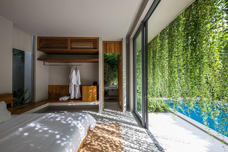 jardins suspendus villas vietnam 11 - Ces Jardins Suspendus Donnent à ces Villas Nature et Intimité