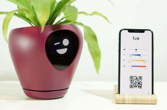 lua pot plantes fleurs connecte intelligant 04 331x219 - Lua, le Pot de Fleurs Connecté qui vous Sollicite (video)