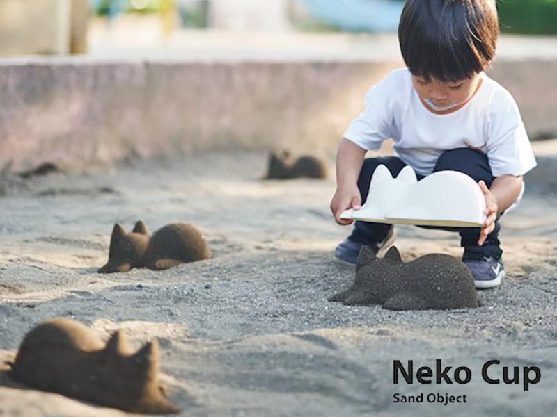 neko cup moule chat bambou 06 - Neko Cup, le Moule Sculpture en Forme de Chat