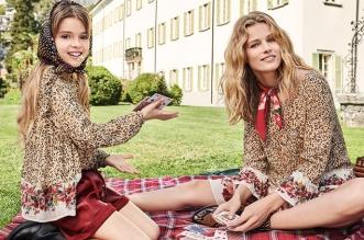 twinset femme campagne hiver 2019 2020 01 331x219 - Un Hiver Twinset Chic et Complice Entre Mère et Fille