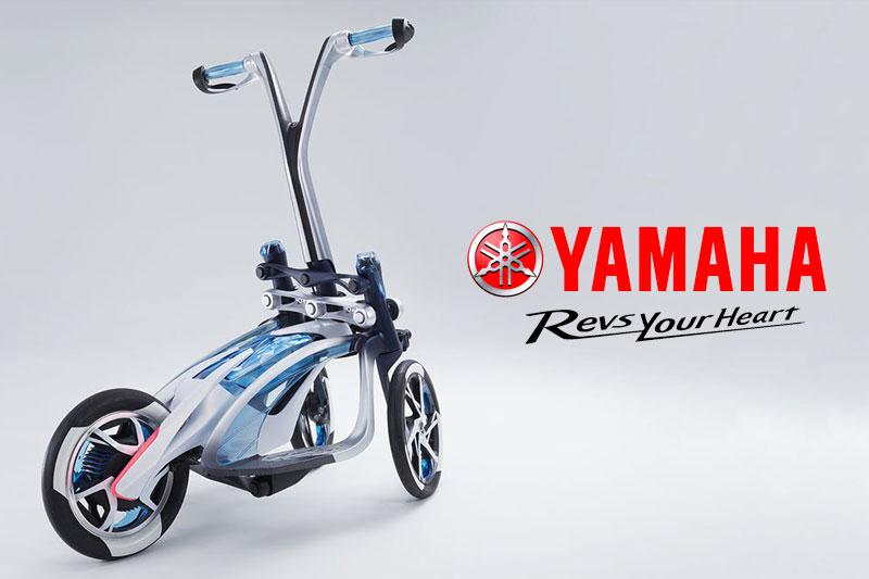 yamaha tritown trottinette electrique 3 trois roues japon 01 - Yamaha Tritown, la Trottinette Electrique à 3 Roues Arrive (video)