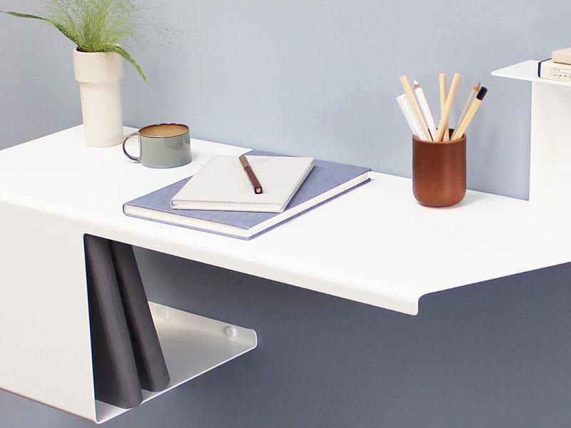 bureau desk Anne Linde, Desk, le Bureau Mural Minimaliste pour Petits Espaces