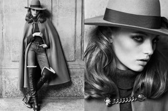 campagne celine femme hiver 2019 2020 02 331x219 - Un Hiver Vintage pour la Femme Céline par Hedi Slimane
