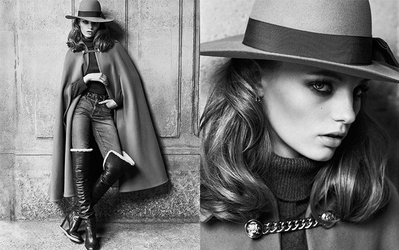 campagne celine femme hiver 2019 2020 02 - Un Hiver Vintage pour la Femme Céline par Hedi Slimane