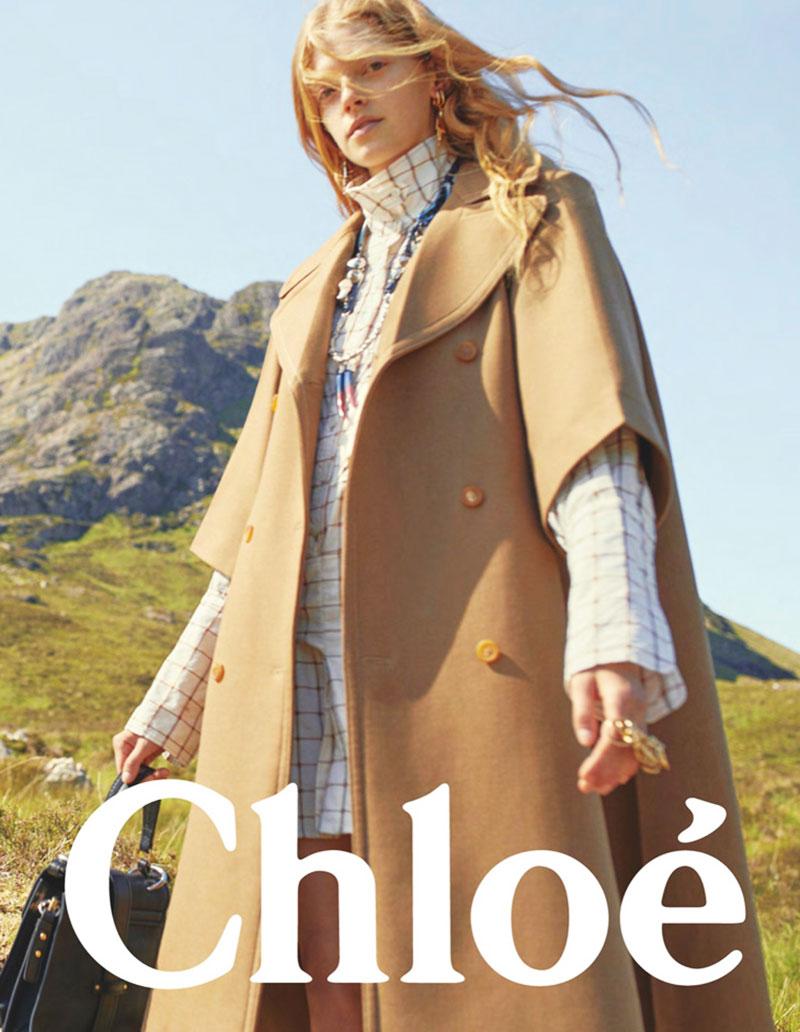 campagne chloe automne hiver 2019 2020 01 - Chloe Fait sa Rentrée Hivernale dans les Highlands