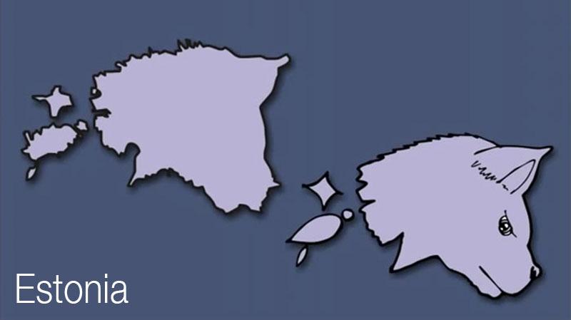 cartes europe humour, Cartes des Pays d'Europe Illustrées avec Humour