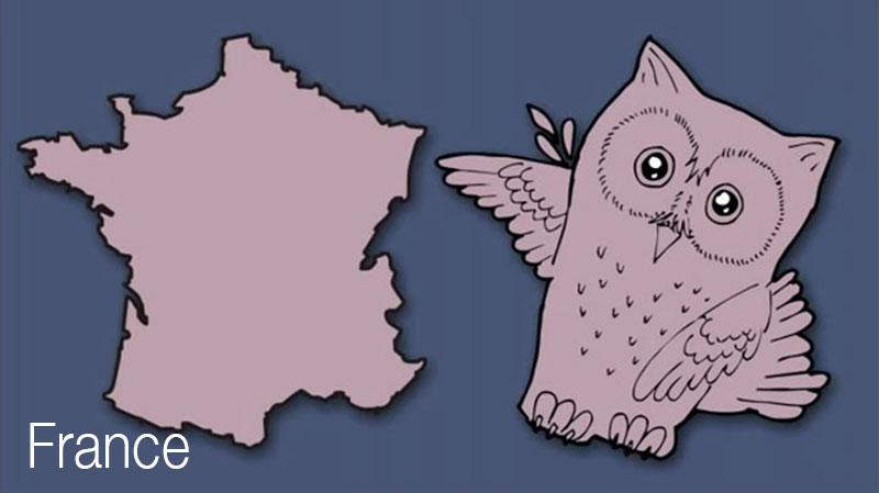 cartes pays europe detournes creatifs 11 - Cartes des Pays d'Europe Illustrées avec Humour