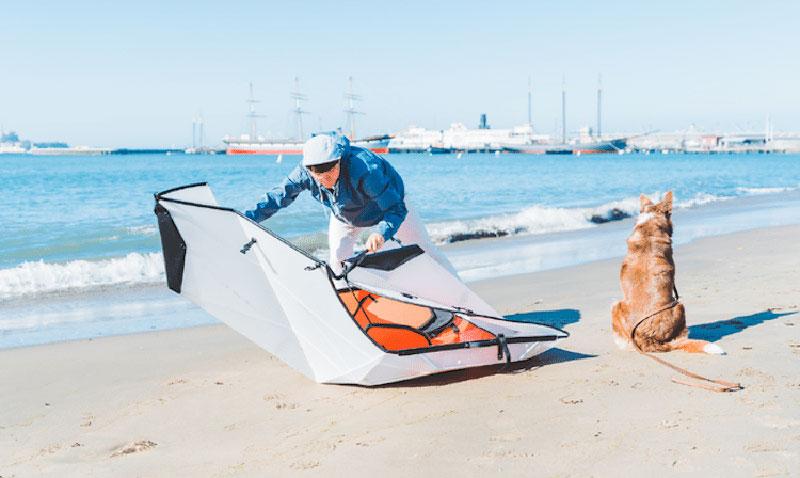 kayak oru origami inlet pliable 03 - Oru Inlet, le Kayak Origami Pliable qui se Déplie en 5 Minutes