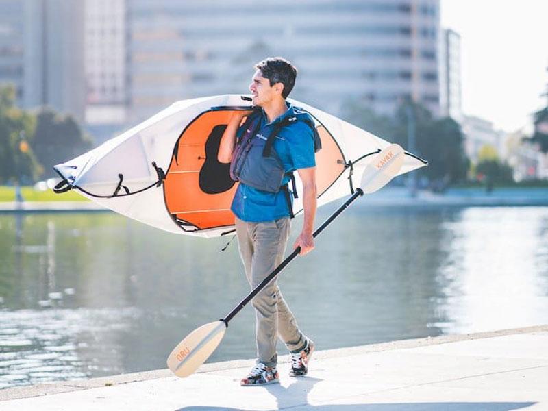 kayak oru origami inlet pliable 05 - Oru Inlet, le Kayak Origami Pliable qui se Déplie en 5 Minutes