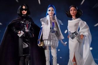 poupee barbie star wars darth vader r2 d2 leia 01 331x219 - Star Wars avec Barbie en Darth Vader, Leia et R2-D2