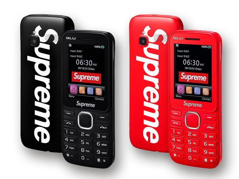 supreme blu burner phone telephone mobile 02 - Supreme BLU, le Téléphone Mobile 3G de la Rentrée
