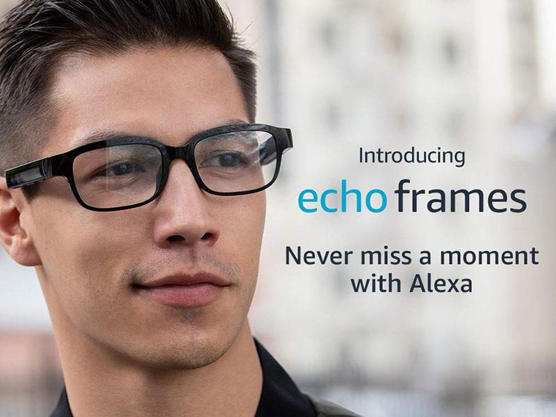 Amazon Echo Frames, Amazon Echo Frames, les Lunettes Connectées avec Alexa