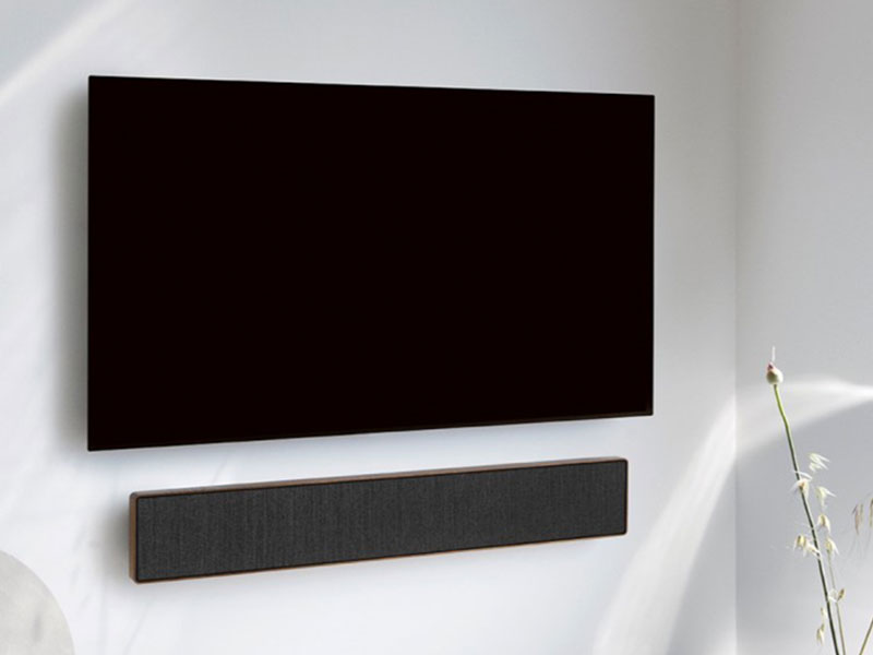 Bang & Olufsen Beosound Stage, Beosound Stage, la Barre de Son de Bang & Olufsen (video)