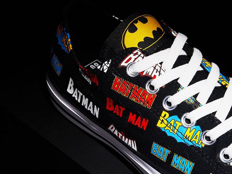 Baskets Converse Batman, Baskets Converse Batman pour les Super Héros