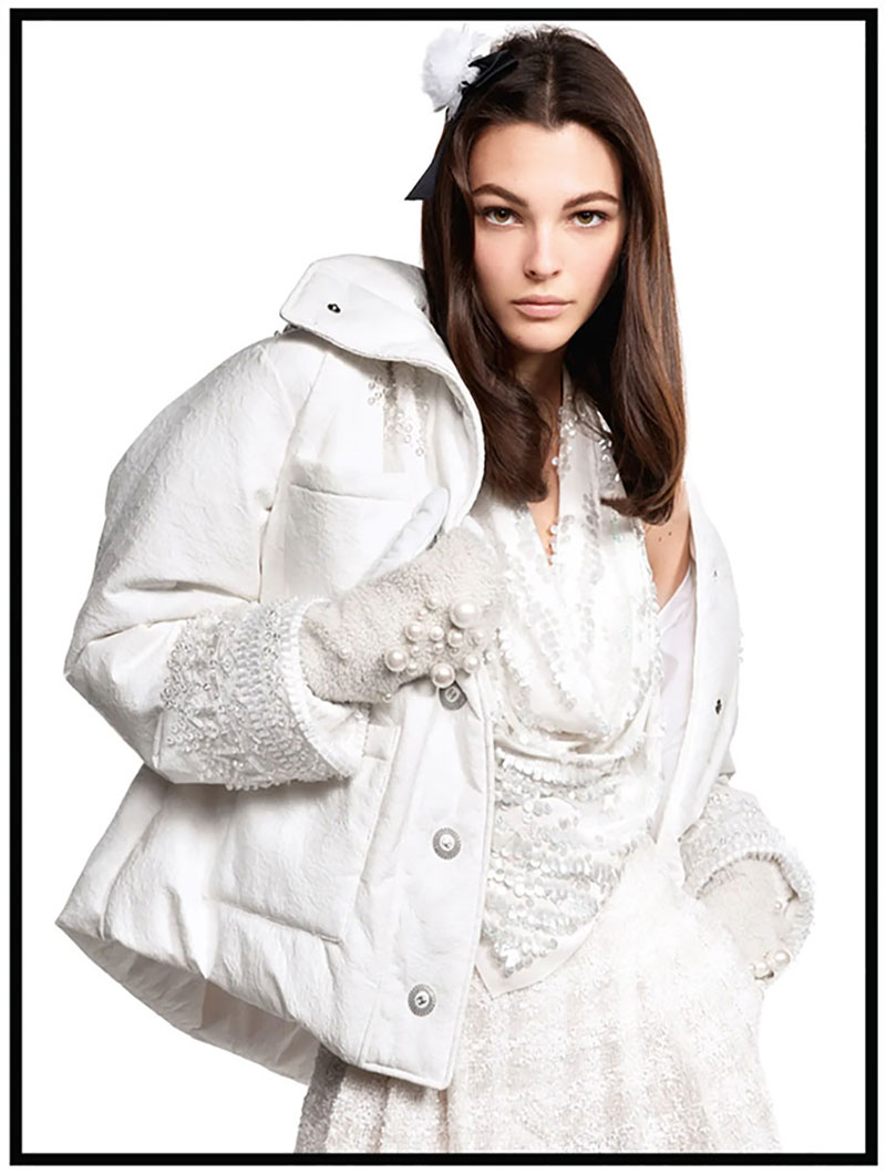 campagne chanel hiver 2019, Une Campagne Chanel Hivernale Blanche Comme Neige