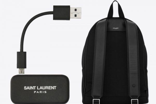google jacquard saint laurent sac a dos connecte bluetooth 03 600x400 - Saint Laurent Cit-E Jacquard, Sac à Dos Connecté par Google