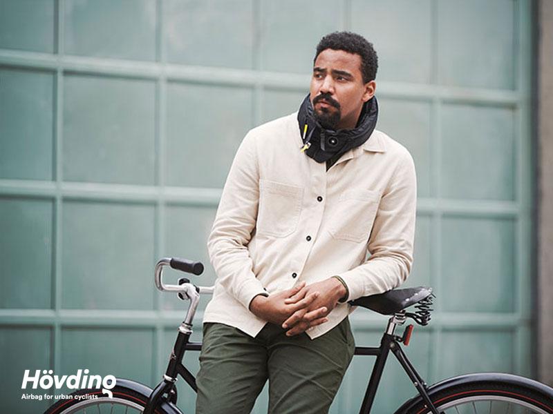Hövding, Hövding 3, le Casque de Vélo avec AirBag le plus Sûr au Monde