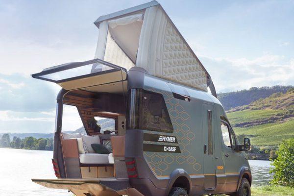 hymer visionventure camper caravane mercedes sprinter luxe 01 600x400 - Hymer VisionVenture, le Mercedes Sprinter en Camping Car de Luxe