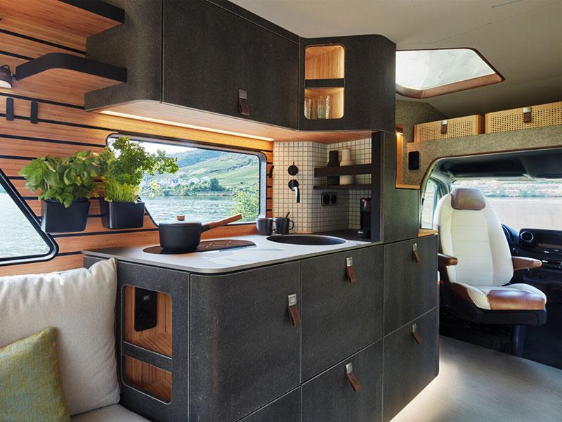 Hymer VisionVenture, Hymer VisionVenture, le Mercedes Sprinter en Camping Car de Luxe