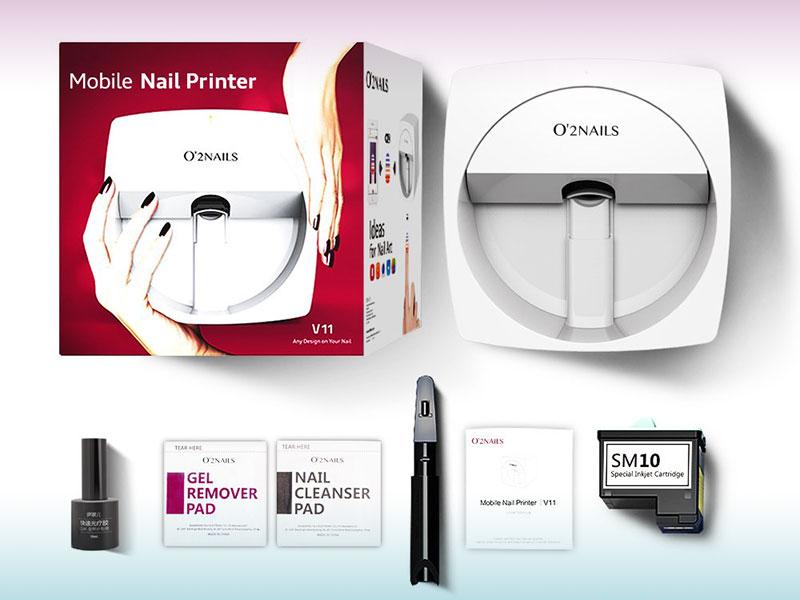 imprimante 3d ongles, Décorer vos Ongles avec cette Imprimante 3D WiFi (video)