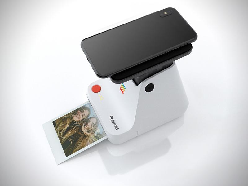 Polaroid Lab, Avec Lab, le Polaroid Devient Imprimante pour Smartphone