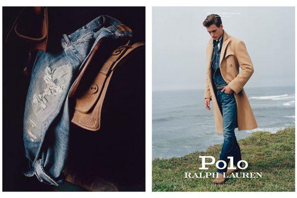 polo ralph lauren jeans campagne 2019 2020 01 600x400 - Un Hiver en Jean pour Ralph Lauren Homme et Femme