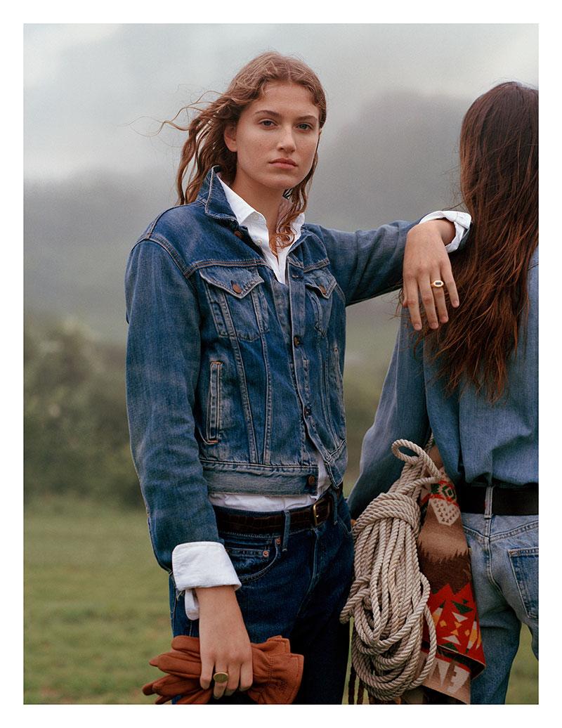 Ralph Lauren 2019 2020, Un Hiver en Jean pour Ralph Lauren Homme et Femme