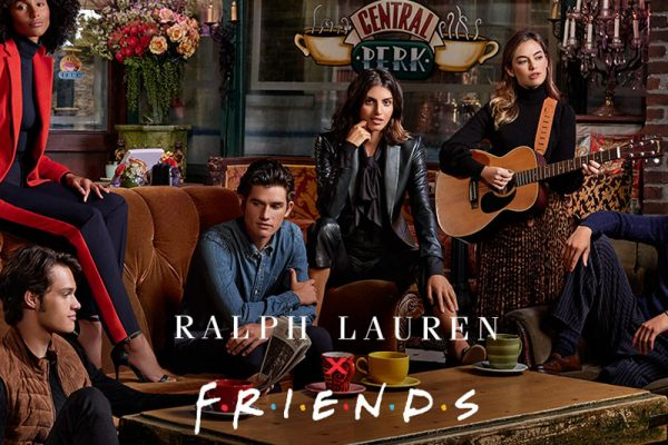 rachel green ralph lauren collection femme serie friends 01 600x400 - Ralph Lauren x Friends, une Collection à la 'Rachel Green'