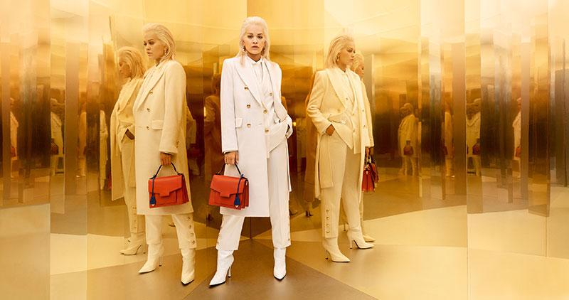 Escada Rita Ora hiver 2019, Rita Ora Egerie de la Campagne Escada Hiver 2019 2020